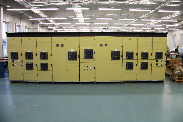 Production and supply of three 5000A switchboards within complete solution