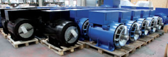 Induction motors and generators